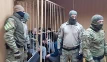 Суд Москвы оставил под арестом всех пленных украинских моряков