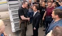 Сенцов та Зеленський відвідали форум YES: про що говорили