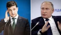 Телефонный скандал: Путин на месте Зеленского