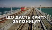 Навіщо Путіну залізниця до Криму: неочікувані відповіді експертів
