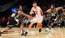 Українець Михайлюк ризикує пропустити Матч висхідних зірок НБА через травму