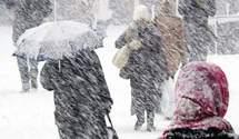 Україну накрили потужні снігопади: коли вщухне лютнева негода