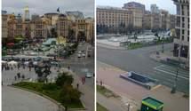 Как изменились улицы городов Украины во время карантина: фото