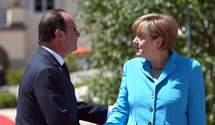 Германии и Франции плевать на Майдан и устремления в Евросоюз большинства украинцев