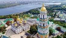 Троица в условиях карантина: соблюдают ли рекомендации Минздрава в Киево-Печерской лавре