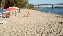 Всі пляжі Києва позначили жовтим прапором: що це означає і коли ситуація зміниться