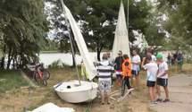 Ветеран АТО відкрив у Черкасах школу вітрильного спорту: як відбувається незвичне навчання