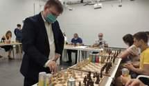 Всеукраїнську битву виграли зіркові гросмейстери