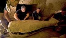 В Египте нашли 27 нетронутых саркофагов, которым 2,5 тысячи лет: фото