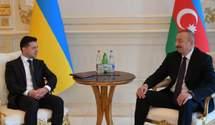 Зеленський поговорив з президентом Азербайджану Алієвим: обговорювали Донбас і бізнес