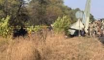Який вигляд нині має місце авіакатастрофи під Чугуєвом: у мережі показали відео