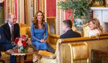 Володимир та Олена Зеленські прибули у Лондон: фото зустрічі з королівськими нащадками