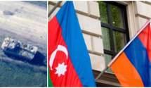 Знищення військової техніки Вірменії: відео Міноборони Азербайджану