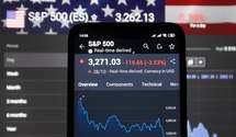Світові фондові біржі демонструють падіння на тлі заяв Дональда Трампа: усі подробиці