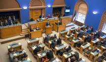 Парламент Эстонии призвал ЕС ужесточить санкции в отношении России