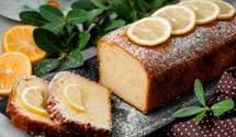 Идеальный лимонный кекс с кукурузной мукой: рецепт от блогера Тани Пренткович