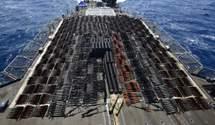 ВМС США затримали судно без розпізнавальних знаків з партією російської зброї на борту