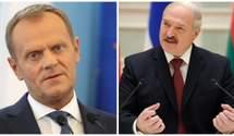 """Туск назвав Лукашенка """"загрозою міжнародній безпеці"""" через затримання Протасевича"""