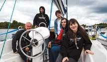 Экспедиция под парусами: команда Ukraїner впервые отправилась в путешествие по Днепру