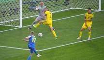 Зінченко побив рекорд України м'ячем у ворота Швеції на Євро