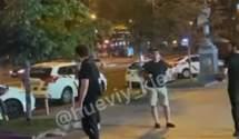 У центрі Києва вдруге за тиждень відбулась масштабна бійка з різаниною