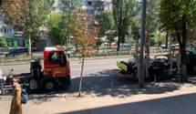 """В """"Ібісі"""" заявили, що мають дозвіл на паркування, а їх директор – жертва нападу"""