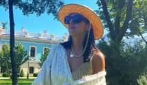 Джамала надела роскошное вышитое платье Виты Кин в центре Киева: фото