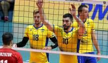 Україна зіграє проти Росії в плей-офф чемпіонату Європи з волейболу