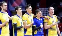 Сборная Украины обидно уступила России в 1/8 финала чемпионата Европы по волейболу