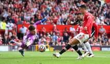 Роналду забил первый гол за Манчестер Юнайтед в дебютном матче: видео