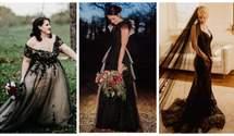 Наречені, які вдягнули чорні сукні й не пошкодували: фантастична добірка