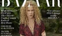 Николь Кидман украсила обложку глянца Harper's Bazaar: роскошная фотосессия