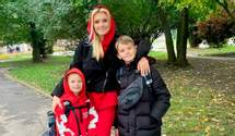 Ірина Федишин розповіла, як збирає синів до школи