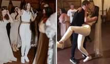 Молодята вдягнули спортивні костюми на весілля: думки в мережі розділились