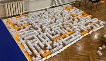 Рекорд на более чем 200 слов: в столичной школе создали самый большой кроссворд на украинском
