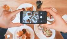 Звичка фотографувати їжу може мати негативні наслідки для здоров'я