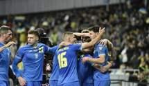 Україна здолала Фінляндію та здобула першу перемогу у відборі на ЧС-2022: відео