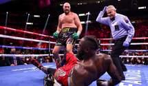 Фьюри в фантастическом поединке нокаутировал Уайлдера и защитил титул WBC