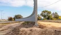 На Оболоні звели бетонну стіну проти шуму: де стане тихіше