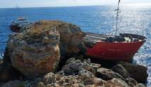 У Чорному морі затонуло судно з хімікатами: це може загрожувати екологічною катастрофою
