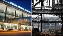 Як виглядав Донецький аеропорт до та після оборони: фотопорівння