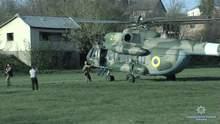 Спецоперация в Винницкой области с участием вертолета: полиция задержала вооруженного мужчину
