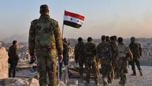 На военную базу в России из Сирии доставлены гражданские лица – граждане РФ, – СМИ