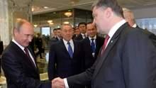 Кравчук объяснил, почему Путин должен сесть за стол переговоров с Порошенко