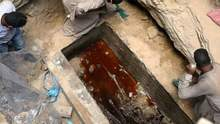 Археологи розкрили гранітний саркофаг, якому більше 2 тисяч років