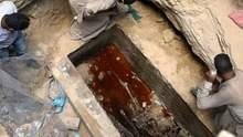 Археологи раскрыли гранитный саркофаг, которому более 2 тысяч лет