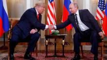 Трамп зробив першу заяву після зустрічі з Путіним тет-а-тет