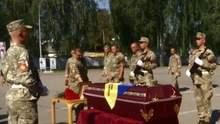 В Сумах похоронили бойца, которого четыре года считали пропавшим без вести