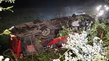 В Польше перевернулся автобус с украинскими номерами: три человека погибли, десятки пострадавших