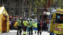 В Мадриде на людей обрушились конструкции пятизвездочного отеля Ritz: фото и видео